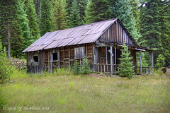 Ye Olde Cabin (jimgspokane) Tags: camping forests cabins idahostate nikonflickraward thecrookedriver nomeidahostate