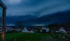 When I opened the door ... (frankmh) Tags: sky cloud storm denmark skne sweden outdoor helsingborg nwn resund hittarp