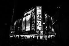 P4090177 (Zengame) Tags: monochrome japan night pen tokyo shinjuku olympus jp   zuiko      penf    mzuiko 12mmf20 mzuikodigitaled12mmf20
