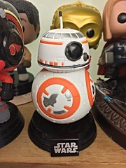 It's BB-8! (knoopie) Tags: starwars april thor finn c3po picturemail iphone 2016 bb8 funkopop poedameron