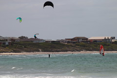 Wind (blachswan) Tags: wind australia victoria portfairy windsurfers