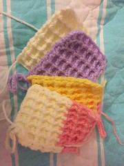 Random Dish cloths (florayah) Tags: handmade crochet dishcloth