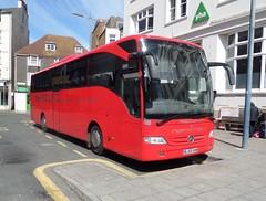 Redwing BJ59OHW_5874 (pjlcsmith2) Tags: mercedes brighton tourismo poolvalley redwingcoaches bj59ohw