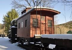 Arkville, New York (8 of 18) (Bob McGilvray Jr.) Tags: wood railroad ny newyork train wooden tracks historic caboose cupola bobber arkville nyow newyorkontariowestern delawareulsterrailroad