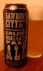 mmmm....beer (jmaxtours) Tags: ontario beer ale goldenbeach mmmmbeer paleale gravenhurst gravenhurstontario goldenbeachpaleale sawdustcitybrewingcompany