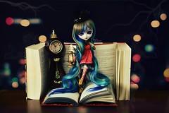 Imagination ~ (Dekki) Tags: fashion asian book doll planning aurora groove pullip jun steampunk obitsu junplanning euryale rewigged rechipped