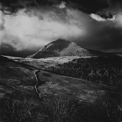 Towards Goatfell (michael prince) Tags: 120 film scotland hasselblad ilford arran goatfell