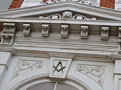 Masonic Building, Circleville, OH (Robby Virus) Tags: county ohio building architecture temple lodge masonic masons fraternal organization freemasons circleville pickaway