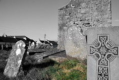 ballinasloe_151 (HomicidalSociopath) Tags: ireland cemetery architecture spring nikon crosses april ballinasloe d60