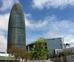 Torre Agbar (Isabel Castro Ahedo) Tags: torreagbar barcelonacatalunya