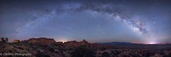 Arches National Park, UT (OJeffrey Photography) Tags: panorama utah nikon nightscape pano archesnationalpark d800 milkyway