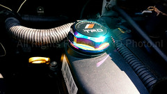 TRD Neo Chrome oil filler cap (ND-Photo.nl) Tags: black green mod groen purple 10 racing chrome cap oil toyota neo modification tuning zwart development 2009 android dop olie paars trd vvti aygo filler pixlr neochrome
