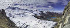 ACR Huaytapallana (Jonathan Chancasana) Tags: agua nieve per sierra cielo nubes cerros hielo seguridad cordillera nevado lagunas panormica huancayo conservacin hidrica