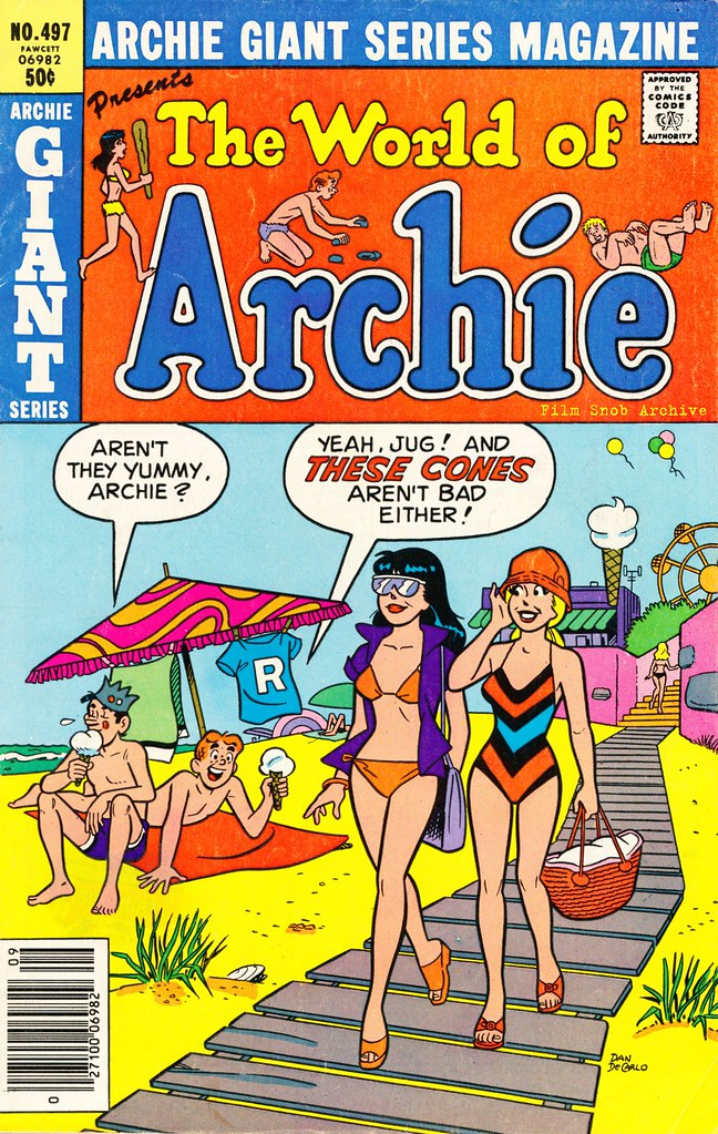 archie girls Issue notes this issue has variants archie's girls betty and veronica (archie, 1950 series) #320 [canadian newsstand variant.