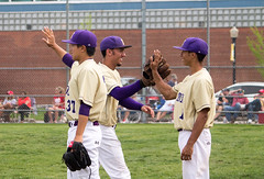 Baseball vs. Monmouth College (Knox College) Tags: home spring baseball monmouth