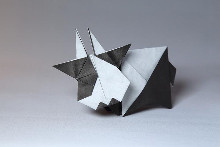 Cow Kastudio Tags Art Paper Origami Yoshimasa Tsuruta