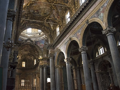 San Giuseppe dei Teatini (D@niel&) Tags: church italia arte chiesa palermo turismo viaggio luce sicilia sacro raggio cupole sangiuseppedeiteatini wwwdanielelivolsicom