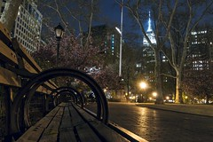 Sit With Me (Gary Burke.) Tags: park city nyc newyorkcity longexposure travel trees urban ny newyork tourism nature skyline architecture night canon bench eos lights evening colorful cityscape fb outdoor path manhattan seat citylife midtown empirestatebuilding nomad gothamist dslr parkbench madisonsquarepark newyorklife urbanphotography iloveny nycparks flatirondistrict cityliving ilovenewyork ilovenyc iheartnewyork 70d nycpark garyburke nyctravel klingon65 nycdetails canoneos70d