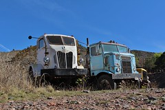 Gold King Mine & Ghost Town (USautos98) Tags: coe 1952 kenworth autocar cabover bullnose