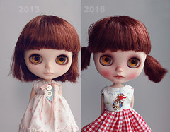 Casual Affair (k07doll) Tags: cute bigeyes doll sweet blythe custom cubby blythedoll rbl customblythe blythecustom k07 k07doll