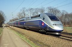 4717  bei Rastatt  03.03.13 (w. + h. brutzer) Tags: france analog train nikon frankreich eisenbahn railway zug trains tgv sncf rastatt 4700 eisenbahnen triebzug triebzge webru