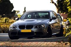 BMW M3 E90 (Eitanix) Tags: cars sedan canon israel automobile power wheels gray fast banana m 600 bmw f18 18 m3 50 70200 f4 eitan e90 shefer isralcars