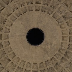 Pantheon (darmoval) Tags: italy rome roma architecture amazing hole geometry pantheon marble simmetry ancientrome classicart