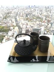 Last morning in Osaka (rocketlass) Tags: japan marriott tea fancy