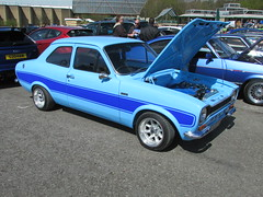 Ford Escort 1300 WEY44N (Andrew 2.8i) Tags: simply ford beaulieu motor museum hampshire new forest escort rs rs2000 2000 replica 1300 13 fast classic avo mark 1 mk mk1 mark1 performance car blue all types transport worldcars