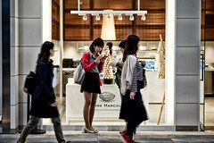 MARCOLINI (sinkdd) Tags: street japan tokyo nikon shinjuku chocolate  nikkor shinjukustation d800 pierremarcolini chocolaterie streetsnap nikond800 afsnikkor85mmf18g newoman