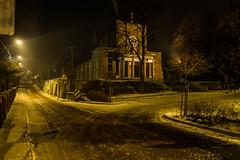 Wojkowice (nightmareck) Tags: winter night europa europe fuji poland polska handheld fujifilm zima fujinon pancakelens xe1 apsc mirrorless wojkowice xtrans fotografianocna xmount zagbiedbrowskie xf18mm xf18mmf20r bezlusterkowiec