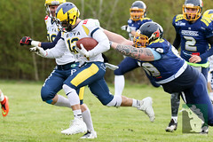 "GFL2 Hildesheim Invaders vs. Assindia Cardinals (Testspiel) 24.04.2015 046.jpg • <a style=""font-size:0.8em;"" href=""http://www.flickr.com/photos/64442770@N03/26581350272/"" target=""_blank"">View on Flickr</a>"
