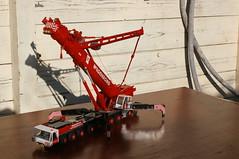 DSC03712 (Wilfred de Groot) Tags: big hobby cranes homemade precious rig heavy beautifull scalemodel heavyduty terex heavylifting wagenborg demag ac700