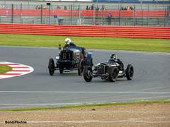 Variety (BenGPhotos) Tags: blue black cars sports car tom club race start vintage de spring voiture racing course special peter walker silverstone motor hispano circuit vilson motorsport vscc autosport 2016 amilcar brasier