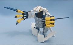 [Single Set Challenge] 70124 Chima Eagle Legend Beast (Mantis.King) Tags: lego scifi futuristic mecha mech moc microscale mechaton mfz mf0 mobileframezero singlesetchallenge