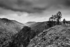 angry peak (Zlatko Vickovic) Tags: people blackandwhite mountain nature monochrome clouds view horizon serbia srbija divcibare zlatkovickovicphotography