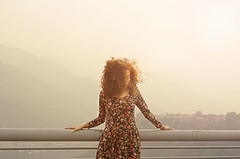(Marvirbaple) Tags: light sunset sun girl beauty sunshine model nikon venezuela mm 50 d5100