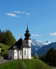IMG_8113 (Christandl) Tags: mountain church canon bayern berchtesgaden outdoor kirche berge 7d bayer watzmann mariagern