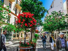 Paseo (Juany J.T) Tags: calles tipicas estpona