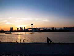 Odaiba Tokyo Sunset (kota-G) Tags: tokyo  odaiba gr  gr3