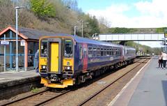 153361 & 153333 (R~P~M) Tags: uk greatbritain england train cornwall diesel unitedkingdom railway kernow 153 liskeard dmu greatwesternrailway multipleunit