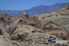Have Jeep, Will Travel! (Alabama Hills) (Life_After_Death - Shannon Day) Tags: life california road blue sky white mountain mountains art nature rock stone pine forest canon movie landscape outdoors photography eos death rocks day arch mt view desert jeep natural 4x4 outdoor nevada 4 alabama grand sierra hills trail shannon national whitney mojave granite lone vehicle after archway mtwhitney dslr mountwhitney eastern canondslr canoneos wheeling sierranevadamountains alabamahills inyo 4wheel lifeafterdeath 50d shannonday canoneos50d eosdslr canoneos50ddslr lifeafterdeathstudios lifeafterdeathphotography shannondayphotography shannondaylifeafterdeath lifeafterdeathstudiosartandphotography shannondayartandphotography