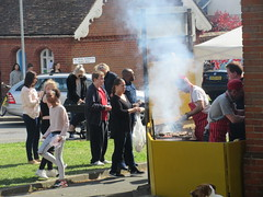 123:365, 2016, Cooking the burgers IMG_6519 (tomylees) Tags: project village may 2nd 365 monday mayday essex bankholiday fayre 2016 bocking