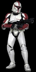 Clone Trooper (Phase I Captain) Pose 1 (Barricade247) Tags: 2 trooper star 1 attack ii captain clones wars clone phase officer episode aotc i
