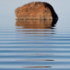Rocking Ripples (trm42) Tags: morning sea reflection nature rock suomi finland spring helsinki waves ripples kivi meri lauttasaari kevt aamu aallot