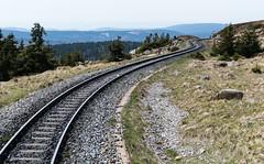 Sichere Wege im Neuen Jahr wünsche ich meinen Flickr-Freunden! (fotomanni.de) Tags: eisenbahn brocken harz brockenbahn schmalspurbahn