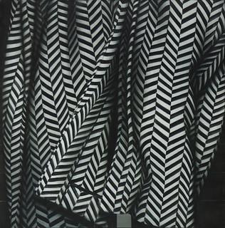 "Victoria Iranzo ""Kimono II"", 2014. Óleo sobre lienzo, 146x146 cm."