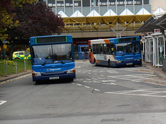 Stagecoach in South Wales 34749 and 34752 (Welsh Bus 18) Tags: southwales dennis dart stagecoach slf cwmbran 34752 34749 px55edv px55eef