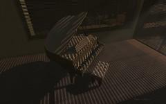 - The Piano - (xxMACExx) Tags: light shadow sunlight photomanipulation golden keyboard shadows mesh digitalart piano ivory sl digitalpainting secondlife digitalphoto pianokeys digitalphotography digitalmanipulation 2ndlife macen filteredlight digitalenhancement digitalpicture goldtones digitalretouch photoenhancement finegold pianochair digitalsunlight digitalshadows zaroshi xxmacexx