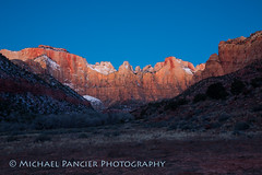 Tower of the Virgins (Michael Pancier Photography) Tags: landscape utah zionnationalpark southernutah americathebeautiful michaelpancierphotography nationalparkphotography michaelapancier americasnationalparks